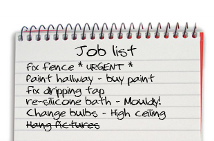 Handy David - List of jobs